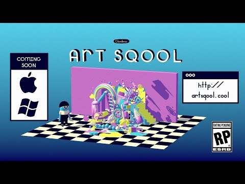 ART SQOOL [Mac/PC game — trailer] thumbnail