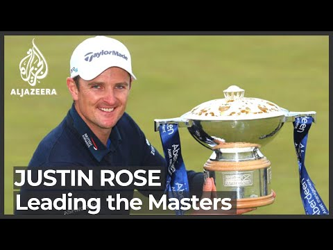 Masters 2021: Justin Rose's lead pared down to one shot
