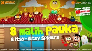 1 MALI PAUK / 8 ITSY BITSY SPIDERs Nursery Rhymes Remix by Nykk Deetronic