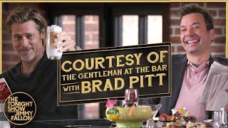 Courtesy of the Gentleman at the Bar w/ Brad Pitt