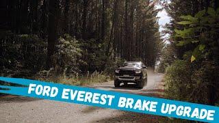Best brakes for Ford Everest