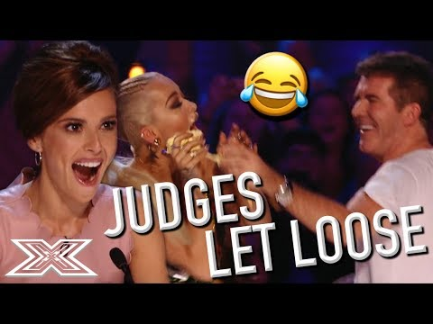 Judges' FAVOURITE FUN X Factor Auditions | X Factor Global