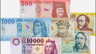 Hungarian currency Forint 1946 | The end of Pengő | Budapest, Hungary 🇭🇺