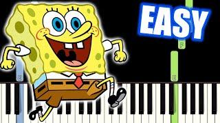 spongebob theme song piano tutorial easy - TH-Clip