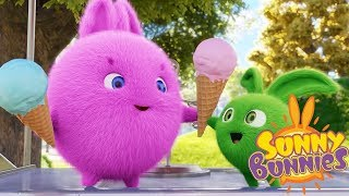Videos For Kids   SUNNY BUNNIES NATIONAL ICE CREAM DAY   Funny Videos For Kids