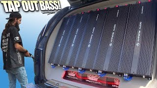 TAP OUT Subwoofer Demos & LOUD Car Audio BASS Systems @ The XS POWER Show & SPL Competition