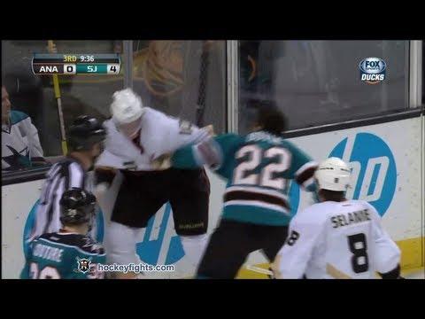 Dan Boyle vs. Corey Perry