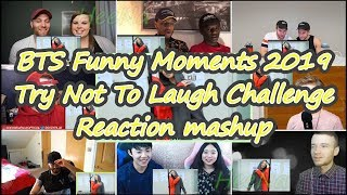 [BTS] Funny Moments 2019 Try Not To Laugh Challenge|reaction Mashup