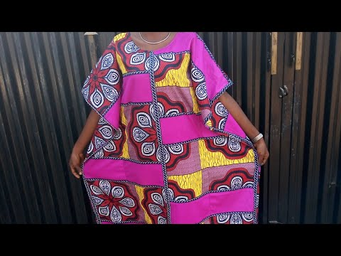 How to cut a kaftan / bubu gown