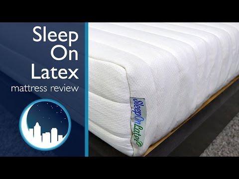 Sleep on Latex Mattress Review