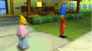 The Simpsons Hit And Run (I Guess You Would Call It All Of The Cutscenes)