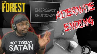 What Happens If You Use The Emergency Shutdown? - The Forest Alternate Ending