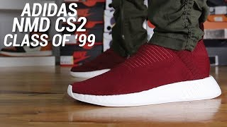 Video Adidas NMD CS2 PK Core negro City Sock R2 examen