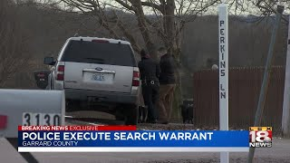 Police Execute Search Warrant