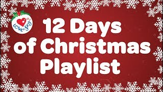 12 Days of Christmas Playlist 🎄 | 1 Hour Best Christmas Music Songs