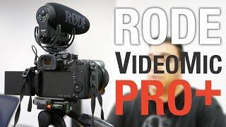 Rode VideoMic Pro Plus Camera Shotgun Microphone Review