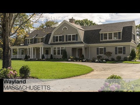 Video of 38 Standish Road | Wayland, Massachusetts real estate & homes by Erin Munroe