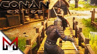 """How to knock out Thralls! -=- Conan Exiles Gameplay -=- Ep5""""ufc 2 someone out"""