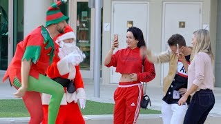 SANTA BEATBOXING FOR STRANGERS EXTRAS!!
