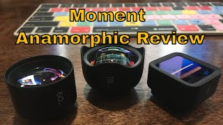 Moment Anamorphic Lens and rear lens cap Review