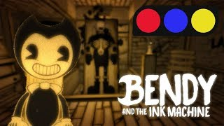 How did that get there!? - Bendy And The Ink Machine [pt. 1][Giveaway]