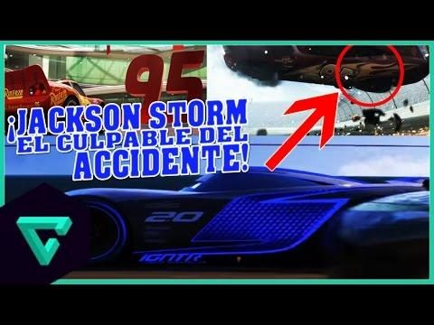 NOTICIA: ¡NUEVO TRAILER DE CARS 3 2017! | JACKSON STORM EL CULPABLE DEL ACCIDENTE DE EL RAYO