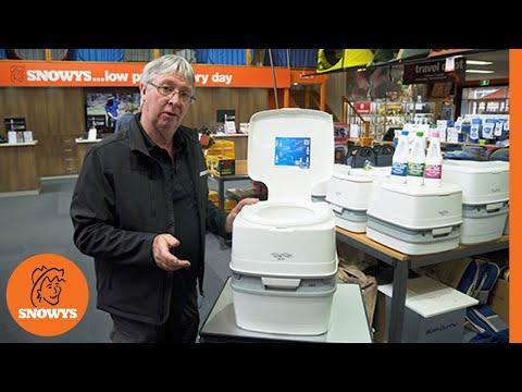 Porta Potti Duo 165 WC és magasító, vegyszerekkel.
