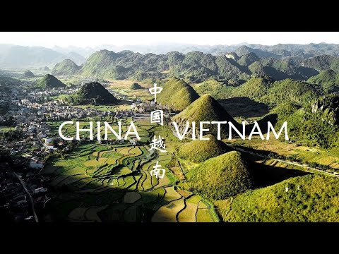 4K Drone Footage of the Picturesque Vietnamese Countryside