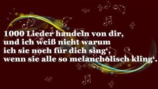 1000 Lieder   Vanessa Mai (mit Lyrics)