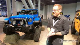 AEV Jeep JL Wrangler Builds And Product Walkaround From SEMA 2018