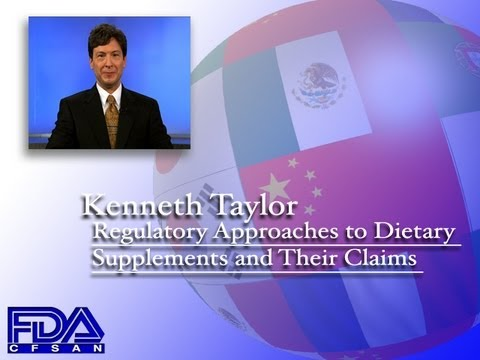Regulatory Approaches to Dietary Supplements and their Claims