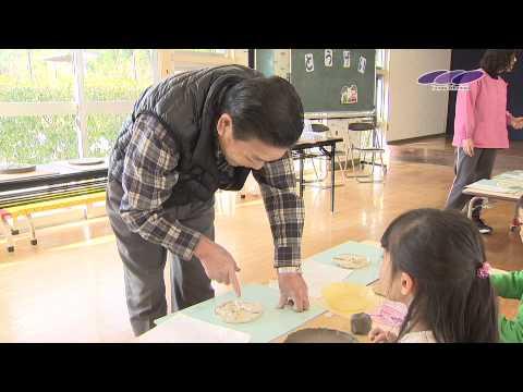 三田保育園で卒業記念制作の陶芸作品作り ふれあいチャンネル