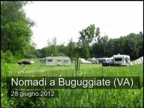 Nomadi a Buguggiate (Varese)
