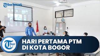 Hari Pertama PTM untuk Siswa SD di Kota Bogor, Pelajar Senang setelah 1 Tahun Lebih Tidak ke Sekolah