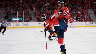 Watch all 49 Alex Ovechkin goals from 2017-18 season