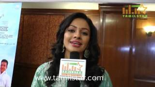 Pooja Kumar at Uttama Villian Movie Team Interview