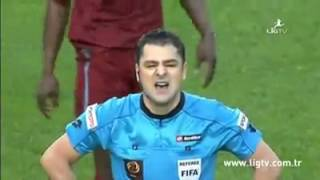 Injured referees in Italy and Turkey