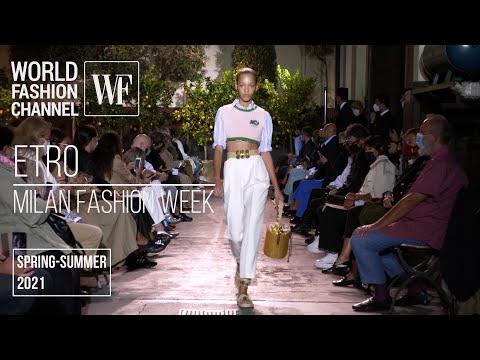 Etro spring-summer 2021 | Milan Fashion Week