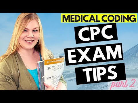 CPC EXAM TIPS - AAPC Professional Medical Coding ... - YouTube