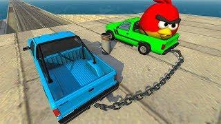 Beamng drive - High Speed Random Car Jumps #10