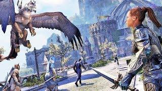 The Elder Scrolls Online ▶ КРОВЬ и Полумесяц. Слезы Двух Лун // СКАЙРИМ ОНЛАЙН