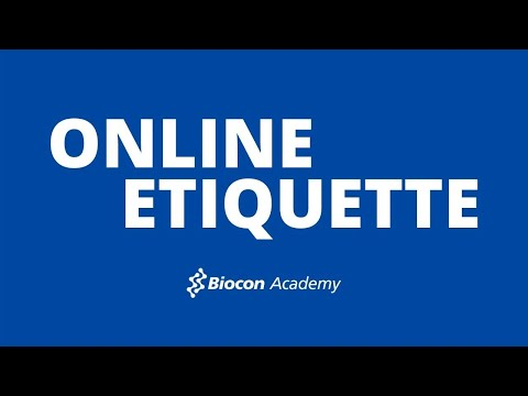 Online Etiquette For Students & Professionals - YouTube