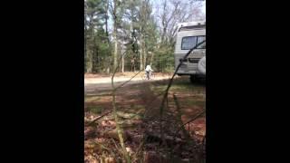 wheelies/crashes on mountain bikes