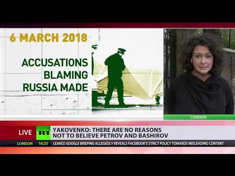 There are no reasons not to trust alleged Skripal poisoning suspects – Russian envoy to UK