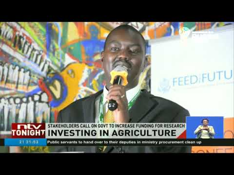 Stakeholders call on government to increase funding for agricultural research