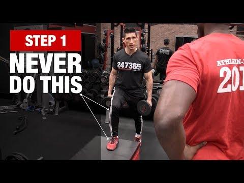 Train Like an NFL Player (FOOTBALL WORKOUT!)
