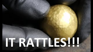24K Pure Gold Foil Ball - Video Youtube