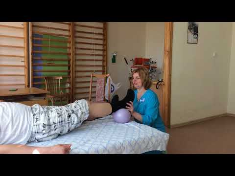 Реабилитационные упражнения после операции на колено