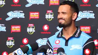 Jake Weatherald interview Adelaide Strikers   interview BBL