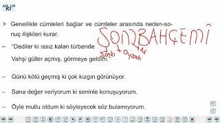 Eğitim Vadisi TYT Türkçe 18.Föy Bağlaç ve Ünlemler Konu Anlatım Videoları